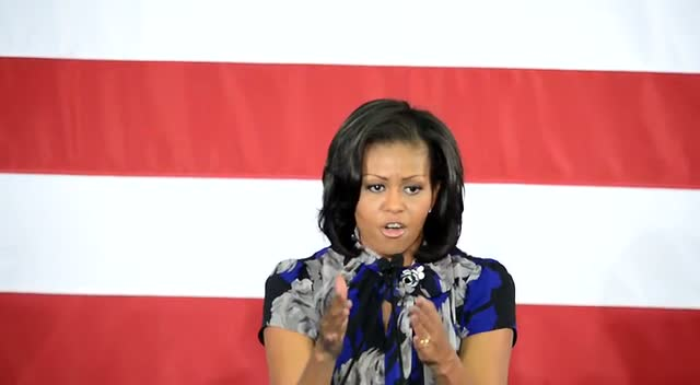 Michelle Obama: The Countrys Progress Is...