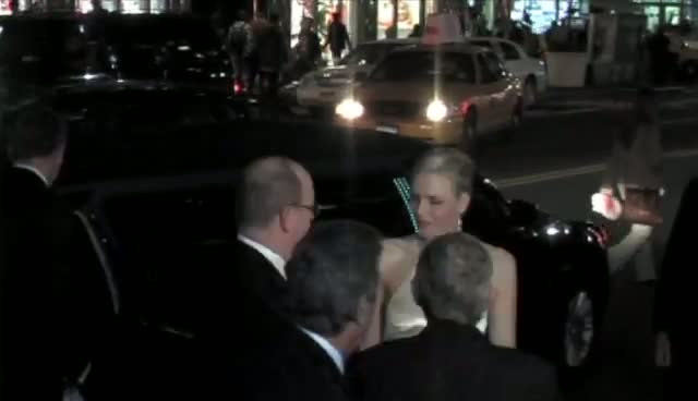 Prince Albert II Of Monaco And Princess Charlene Arrive At Event Honouring Grace Kelly Charity