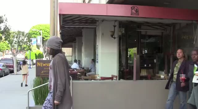 Russell Brand Takes Vagrants Out For Breakfast In Beverly Hills
