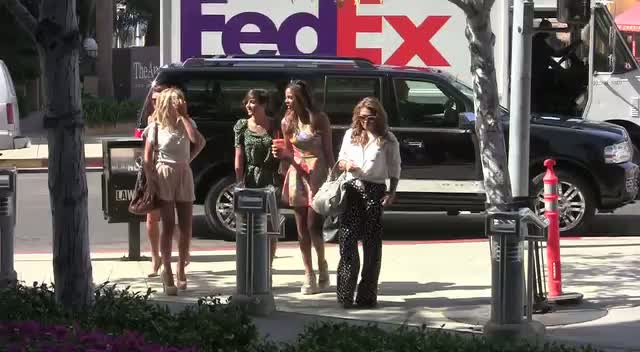 The Saturdays Attend A Meeting In Beverly Hills