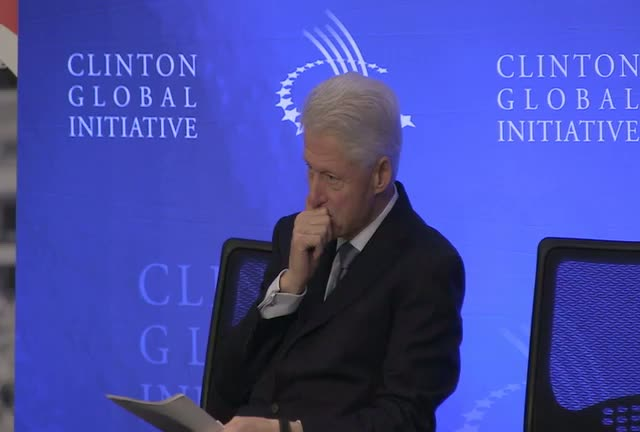 Bill Clinton Insists On 'Global Cooperation' On The Issue Of Special Olympics In CGI Speech