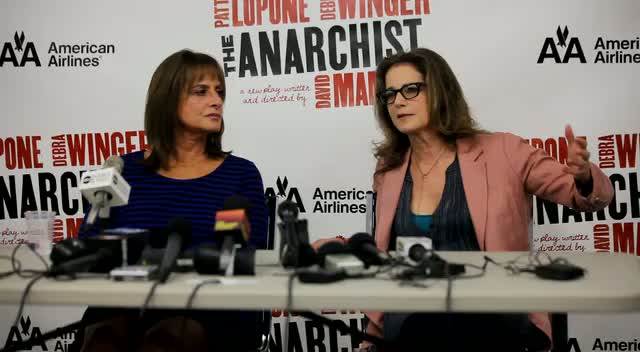 Debra Winger And Patti LuPone Don't Know How The Audience Will React To 'The Anarchist'