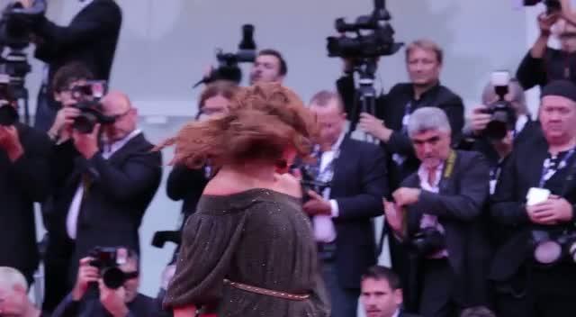 Joaquin Phoenix And Philip Seymour Hoffman Arrive At The Venice Film Festival 'The Master' Premiere