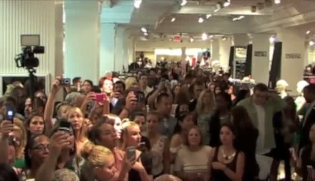 Kim Kardashian Launches Perfume True Reflection For Fashion's Night Out