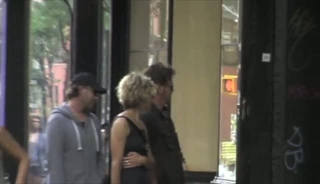 Meg Ryan And John Mellencamp Do A Spot Of Shopping In Sunny Soho