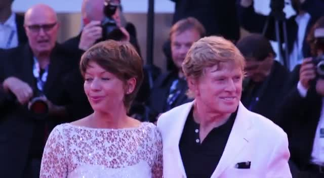 Shia LaBeouf And Robert Redford Hit The Red Carpet For The Company You Keep Premiere