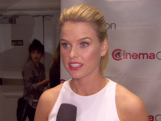 Alice Eve Describes 'Star Trek Into Darkness' Director JJ Abrams As 'A Mind To Be Reckoned With' At CinemaCon