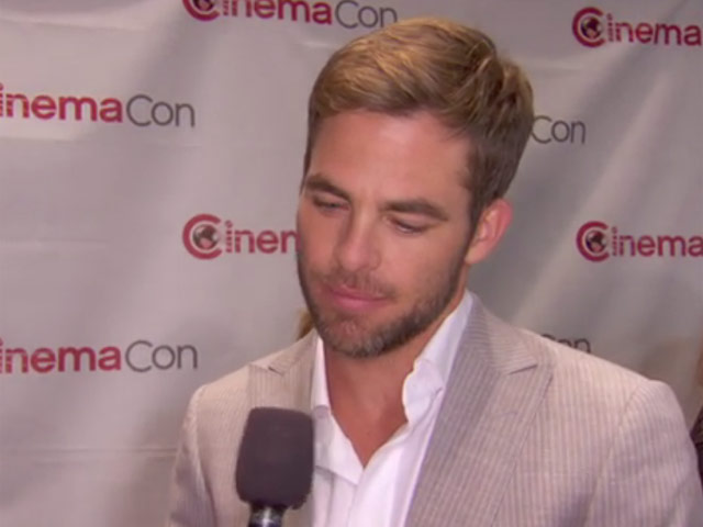 Chris Pine Says Captain Kirk 'Realises His Faults' At CinemaCon Preview Of 'Star Trek Into Darkness'