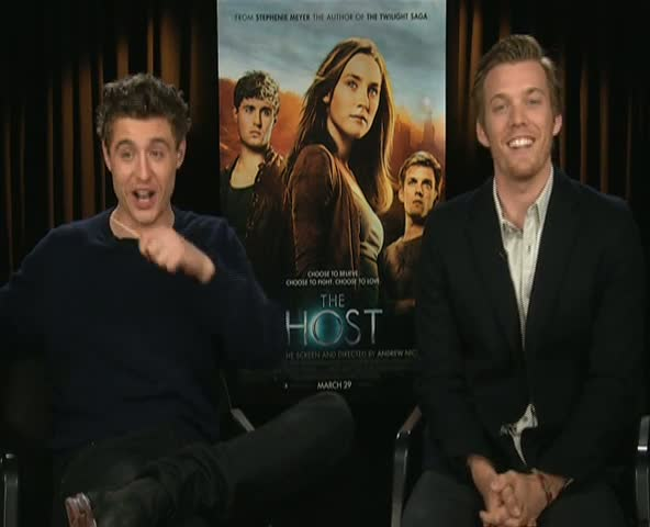 Max Irons And Jake Abel Discuss Off-Set Pranks And Crazy Fans In An Interview For 'The Host'
