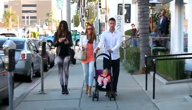 Michelle Heaton Heads To Hollywood Restaurant With Husband, Daughter And Friend Leilani Dowding