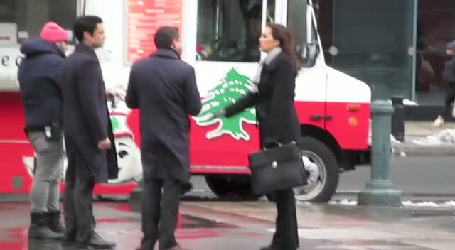 Stars Get Hungry On The Set Of 'Law and Order: Special Victims Unit'