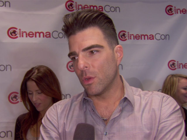 Zachary Quinto Describes Action As 'Bolder And Bigger' In 'Star Trek Into Darkness' On CinemaCon Red Carpet
