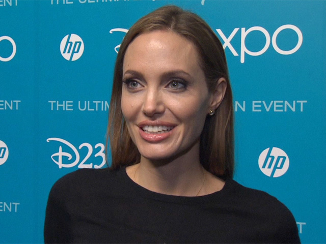 "Angelina Jolie Discusses Playing Unsuspected Antogonist ""Maleficent"" In Disney's Latest Re-Branding: Maleficent At D23"