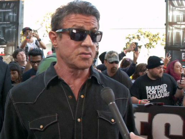 Sylvester Stallone Admits Arnie Has A 'Big Ego' In Comic Con Interview