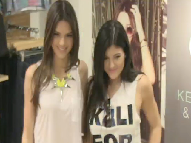 Kendall Jenner And Kylie Jenner Are Snapped At The Fall 2013 PacSun Launch