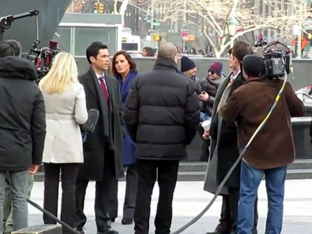 The Cast Of 'Law and Order: Special Victims Unit' Film Scenes For Season 15