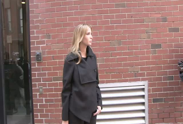 Ivanka Trump Wanders Round New York City Streets