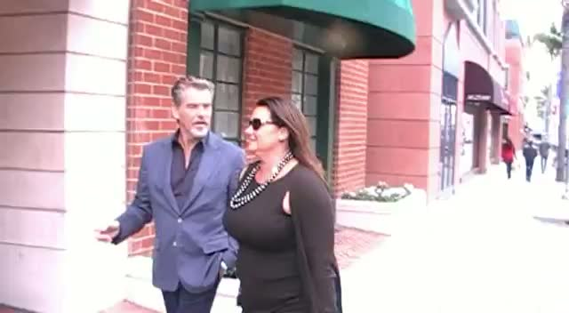 Pierce Brosnan Told He's Number One Irish Export As He Visits Beverly Hills Dentist