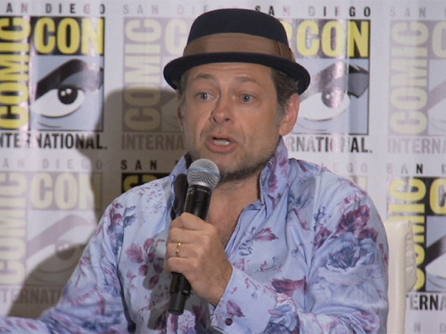 Andy Serkis And Jason Clarke Open Up About The Depth Of Their Characters In 'Dawn of the Planet of the Apes' Comic-Con Conference - Part 2