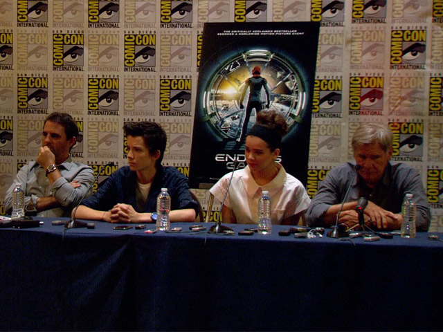 Gavin Hood Talks Non CG Sets In 'Ender's Game' Press Conference At Comic-Con - Part 2