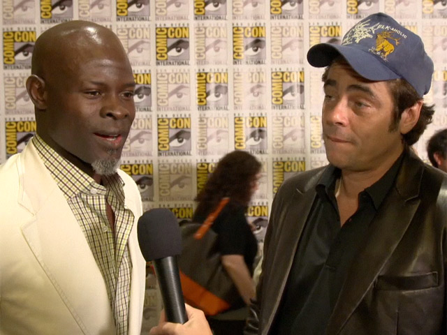 Djimon Hounsou And Benicio Del Toro Excited To Be At Comic-Con For 'Guardians of the Galaxy'