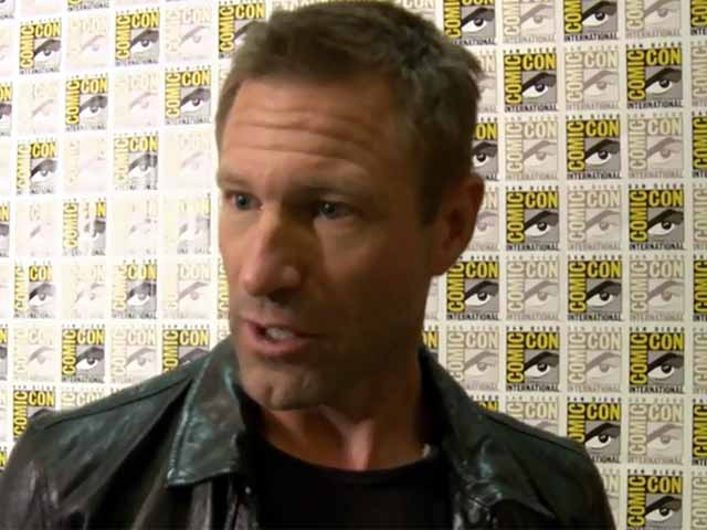 Aaron Eckhart Talks About The Themes Of New Flick 'I, Frankenstein' At Comic-Con Screening