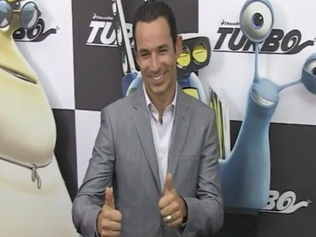 IndyCar Superstars Arrive At The NY Premiere of 'Turbo' - Part 1