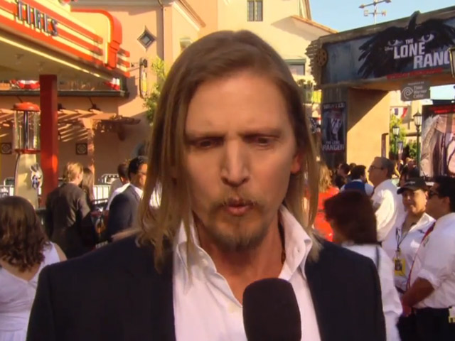 Barry Pepper Talks About The Spectacular Set On 'The Lone Ranger' At The World Premiere