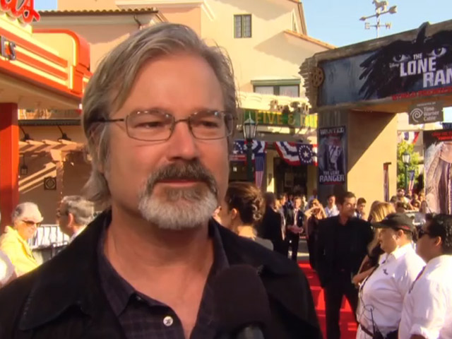Director Gore Verbinski Talks Acting Chemistry At 'The Lone Ranger' World Premiere