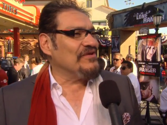 Joaquin Cosio Interviewed At 'The Lone Ranger' World Premiere