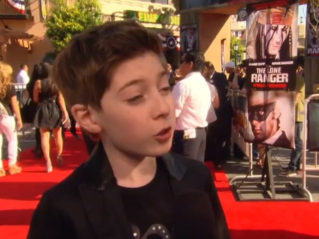 Mason Cook Thinks 'The Lone Ranger' Premiere Is 'Awesome'... Twice!