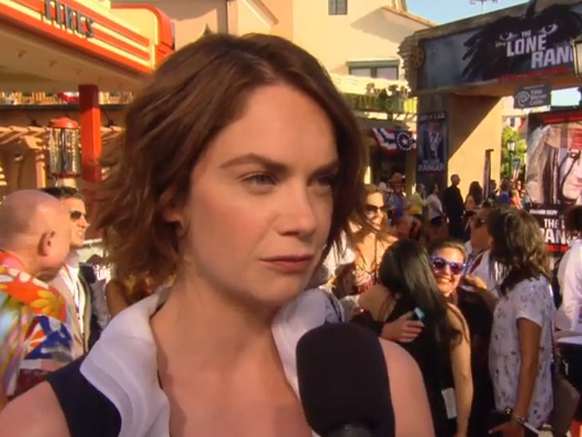 Ruth Wilson Was 'Pretty Good' At Stunt Work On 'The Lone Ranger'