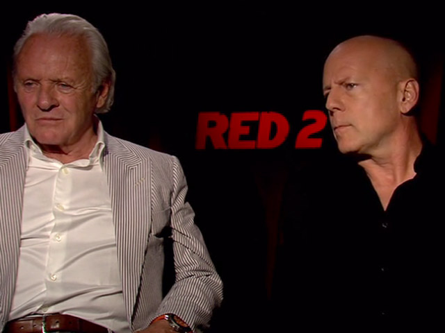 Anthony Hopkins And Bruce Willis Discussed Their Enjoyment On Working On 'Red 2' In An Interview