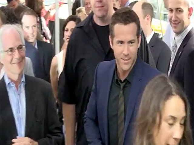Ryan Reynolds Hits The NY Premiere Of 'Turbo' - Part 4