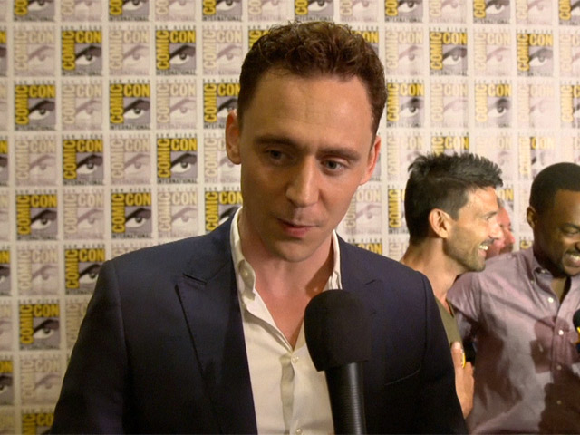 Tom Hiddleston Talks About New Movie 'Thor: The Dark World' At Comic-Con