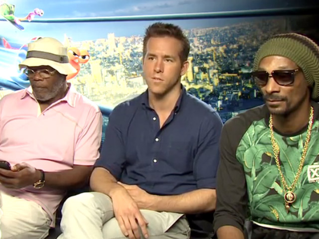 Snoop Lion, Samuel L. Jackson And Ryan Reynolds Talk Underdogs And Sam Cook In 'Turbo' Interview