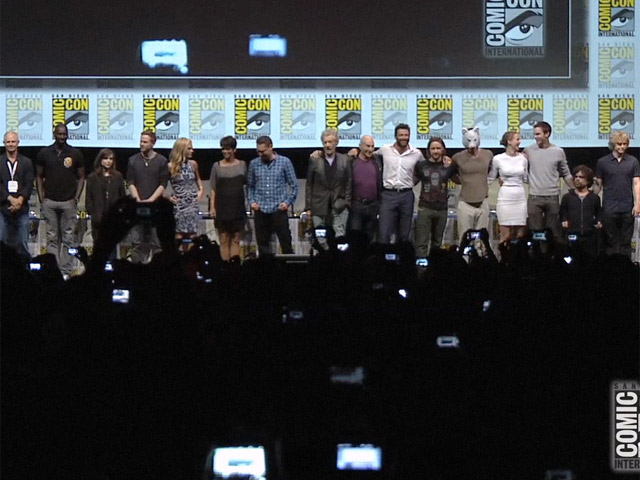 'X-Men: Days of Future Past' Cast And Crew Are Introduced At Comic-Con Presentation