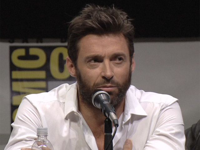 Bryan Singer, Peter Dinklage And Hugh Jackman Joke Around At Comic-Con During 'X-Men: Days of Future Past' Presentation - Part 3