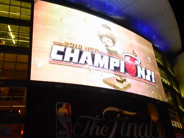 Fans Are Snapped Leaving The American Airline Arena Following Miami Heat's Nba Title Win - Part 1