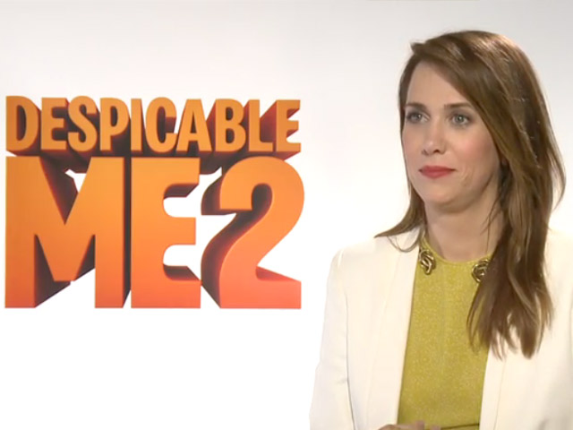 'Despicable Me 2' Star Kristen Wiig Takes Part In A Promotional Interview That Reveals A Little Too Much (Spoiler Alert!)