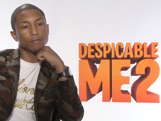 Pharrell Williams Explains His 'Happier' Music For The 'Despicable Me 2' Soundtrack