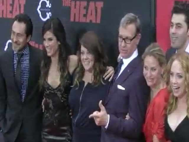 'The Heat' Double Act Sandra Bullock And Melissa McCarthy Look Like BFFs At NY Premiere - Part 4