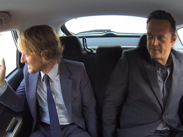 Vince Vaughn And Owen Wilson Get Excited For The Premiere Of 'The Internship'