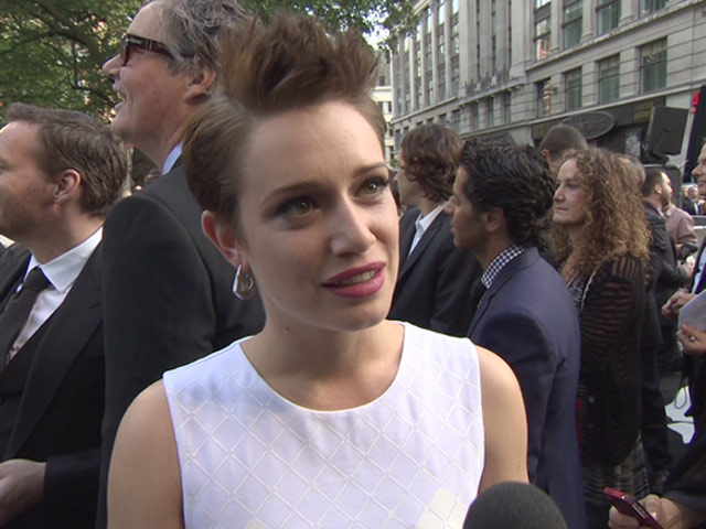 Daniella Kertesz Talks About 'World War Z' During The London Premiere Event