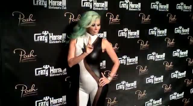 Jenna Jameson Stands Out In Unusual Catsuit During Vegas Birthday Celebrations