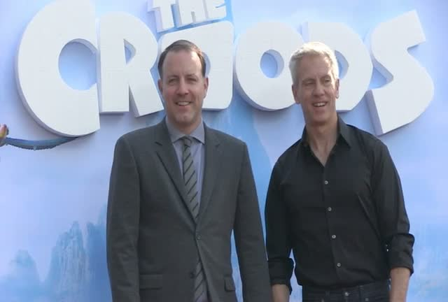 The Croods Directors And A Sloth Are Among The Arrivals At The Family Movie NY Premiere