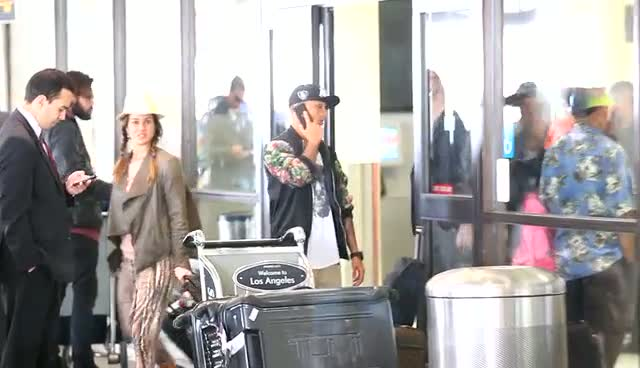Aston Merrygold Dawdles At LAX As Driver Is Nowhere To Be Seen