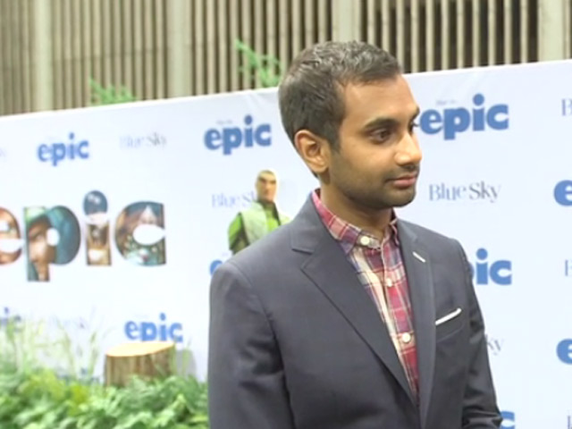 Aziz Ansari Reveals In An Interview That He Gained Weight To Voice His Character In 'Epic'