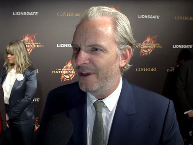 Francis Lawrence Talks About His New Movie 'The Hunger Games: Catching Fire' In A Red Carpet Interview At Cannes