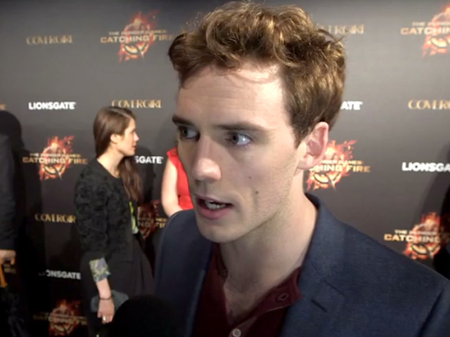 Sam Claflin Says It's 'A Privilege' To Be At Cannes In An Interview On 'The Hunger Games: Catching Fire'